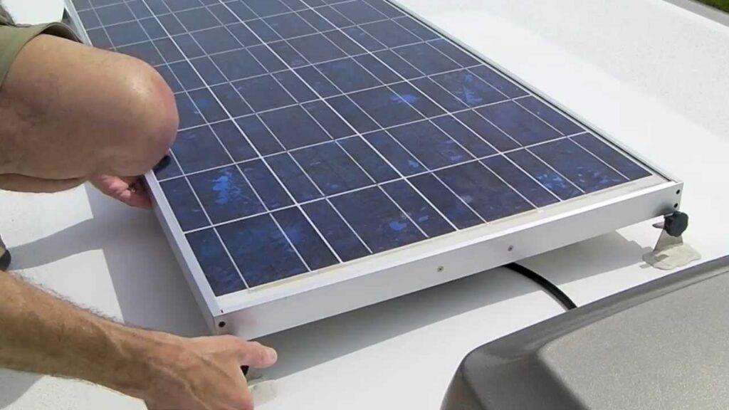 Install a Solar Panel on an RV