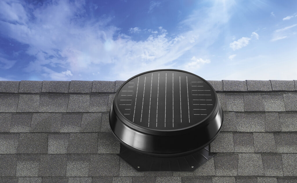 Solar Powered Attic Fan