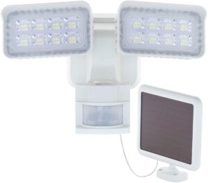 LED Solar-Powered Outdoor Security Light